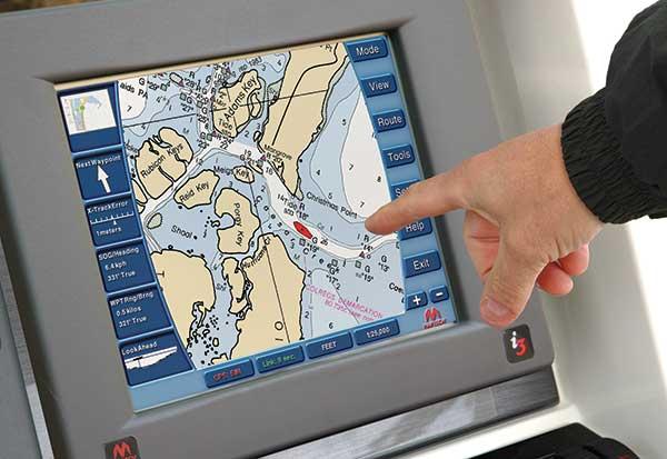 GPS et carte électronique